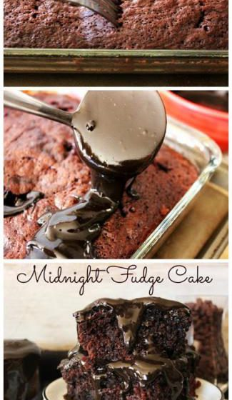 Midnight Fudge Cake