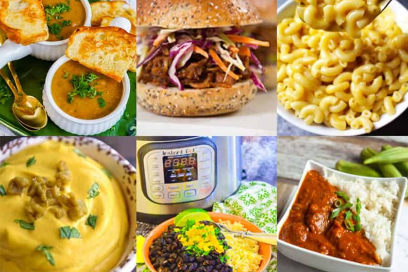 Top 5 Instant Pot Vegetarian Recipes