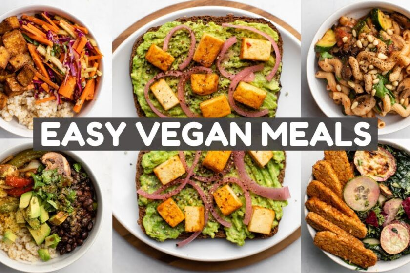 Top 5 Vegan Recipes For Dinner